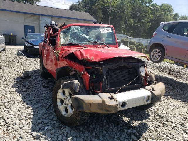 Vehiculos salvage en venta de Copart Mebane, NC: 2015 Jeep Wrangler U