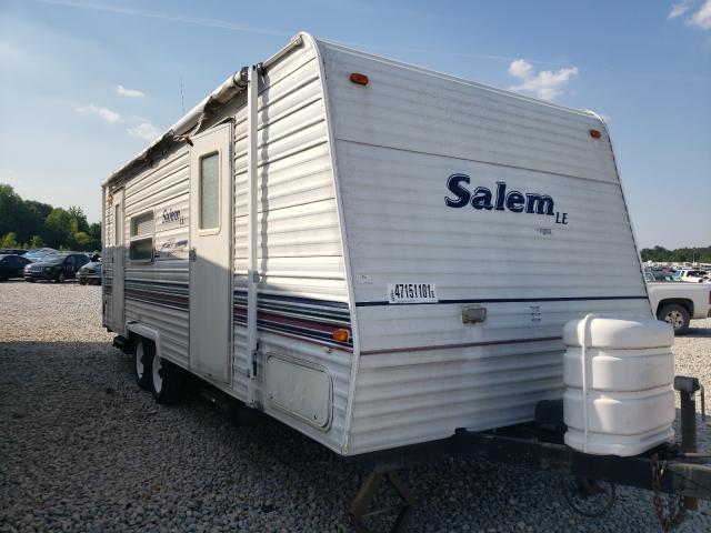 Salem Travel Trailer salvage cars for sale: 2003 Salem Travel Trailer