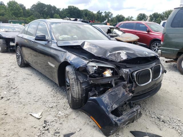 BMW salvage cars for sale: 2011 BMW 740 I