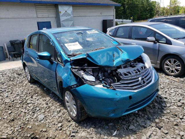 Salvage cars for sale from Copart Mebane, NC: 2016 Nissan Versa Note