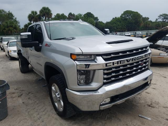 Salvage cars for sale from Copart Fort Pierce, FL: 2020 Chevrolet Silverado