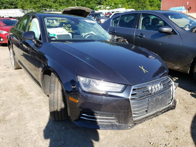 Audi A4 salvage cars for sale: 2017 Audi A4