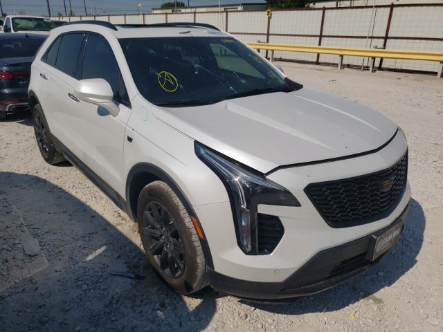 Salvage cars for sale from Copart Haslet, TX: 2020 Cadillac XT4 Premium
