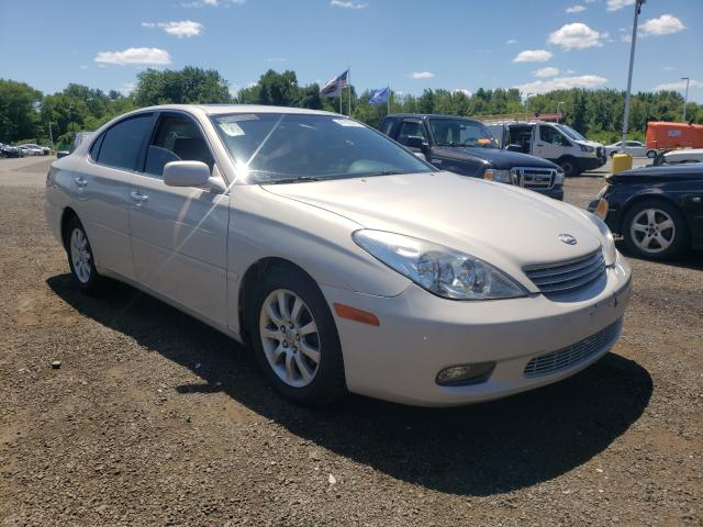 Salvage cars for sale from Copart East Granby, CT: 2002 Lexus ES 300