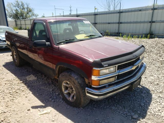 Salvage cars for sale from Copart Appleton, WI: 1995 Chevrolet GMT-400 C1