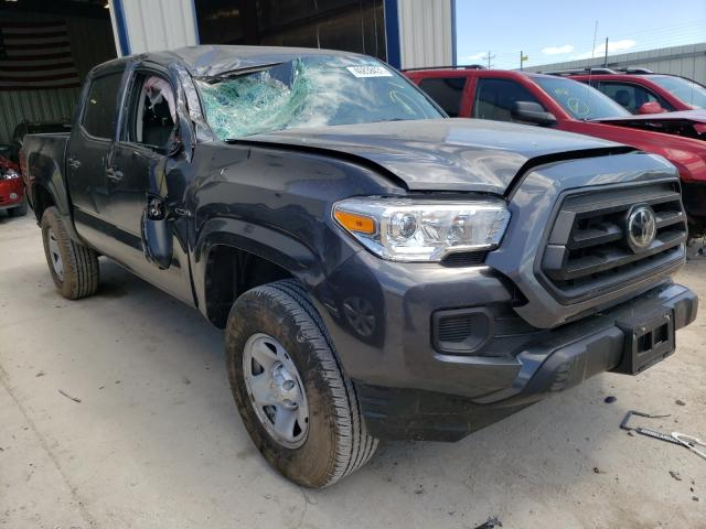 Salvage cars for sale from Copart Appleton, WI: 2020 Toyota Tacoma DOU