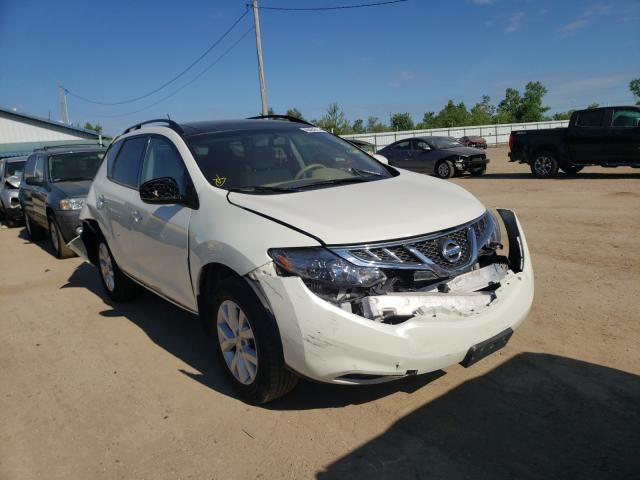 Salvage cars for sale from Copart Pekin, IL: 2011 Nissan Murano S
