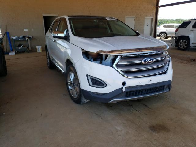 Salvage cars for sale from Copart Tanner, AL: 2015 Ford Edge SEL