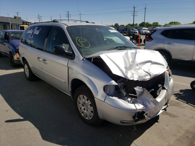Salvage cars for sale at Nampa, ID auction: 2006 Chrysler Town & Country