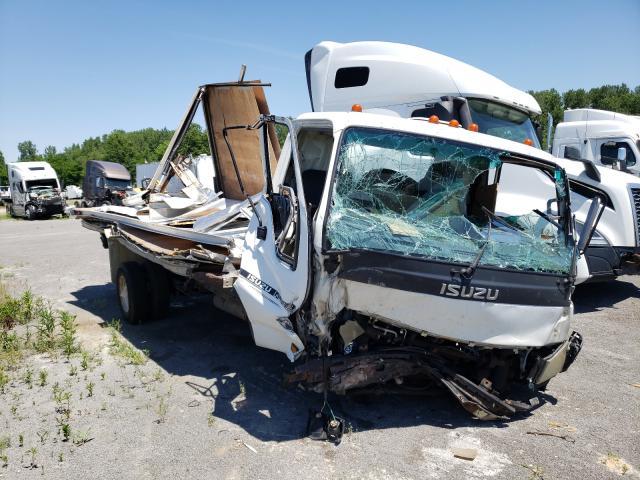 Salvage trucks for sale at Alorton, IL auction: 2006 Isuzu NPR