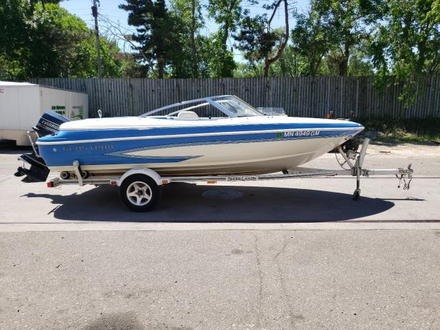 Glastron salvage cars for sale: 1994 Glastron Boat With Trailer
