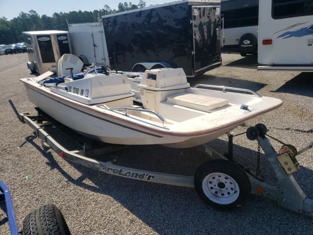 Salvage boats for sale at Harleyville, SC auction: 1995 Mckenzie Lakota