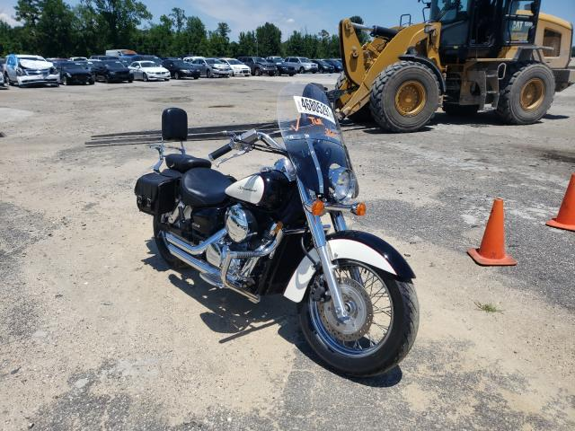 Salvage motorcycles for sale at Lumberton, NC auction: 2008 Honda VT750 CA