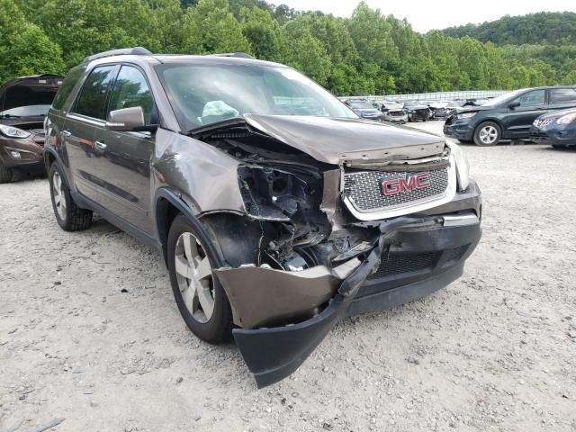 Salvage cars for sale from Copart Hurricane, WV: 2011 GMC Acadia SLT