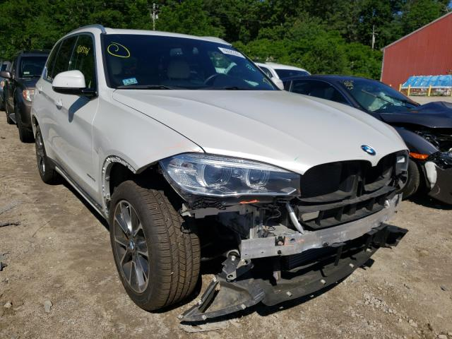 Salvage cars for sale from Copart Mendon, MA: 2018 BMW X5 XDRIVE3