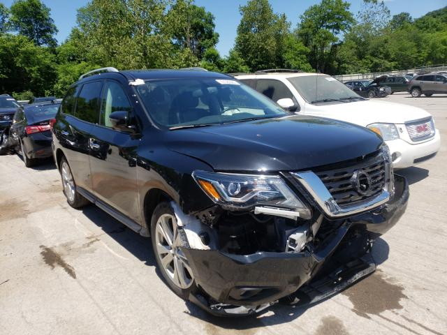 Salvage cars for sale from Copart Ellwood City, PA: 2019 Nissan Pathfinder
