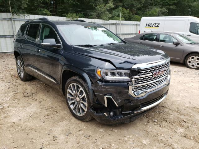 Salvage cars for sale from Copart Midway, FL: 2021 GMC Acadia DEN