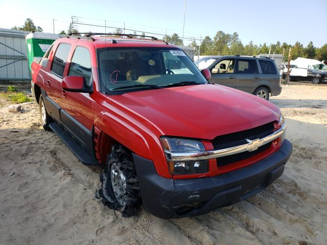 Salvage cars for sale from Copart Gaston, SC: 2004 Chevrolet Avalanche