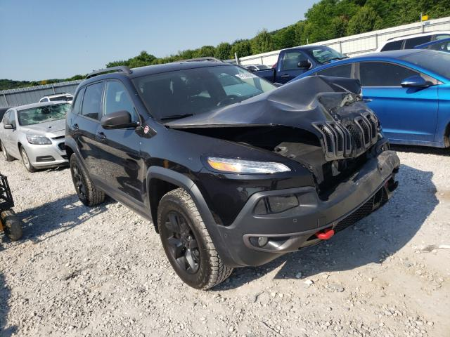 Salvage cars for sale from Copart Prairie Grove, AR: 2015 Jeep Cherokee T