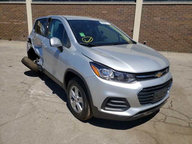 Salvage cars for sale from Copart Wheeling, IL: 2021 Chevrolet Trax LS