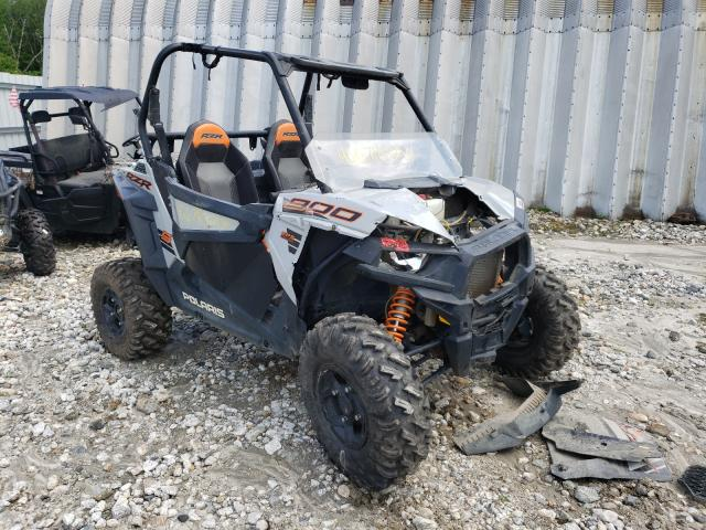 Salvage motorcycles for sale at Warren, MA auction: 2019 Polaris RZR S 900
