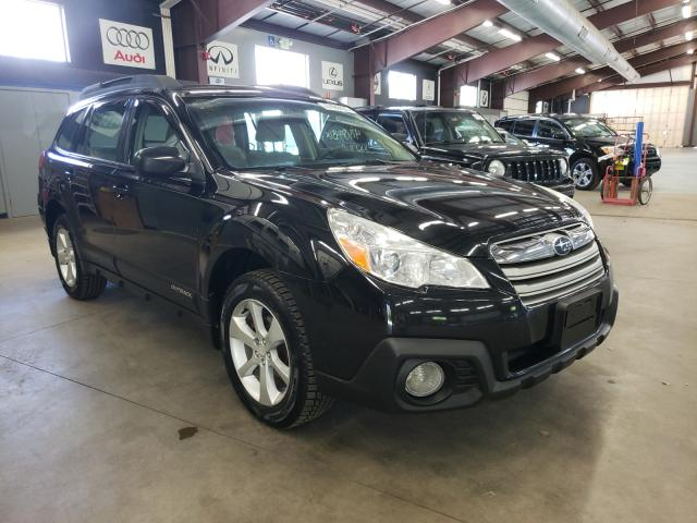 Salvage cars for sale from Copart East Granby, CT: 2014 Subaru Outback 2
