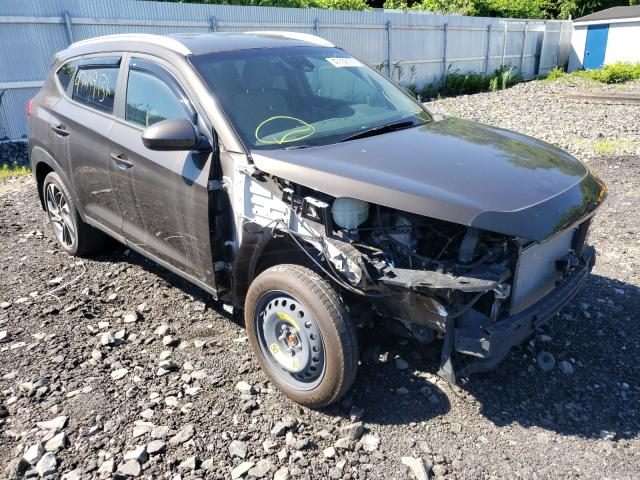 Salvage cars for sale from Copart Marlboro, NY: 2020 Hyundai Tucson Limited