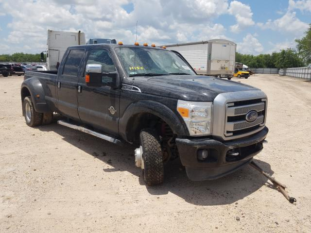 Salvage cars for sale from Copart Mercedes, TX: 2015 Ford F350 Super