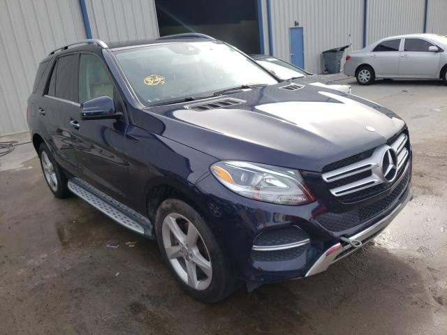 Salvage cars for sale from Copart Apopka, FL: 2016 Mercedes-Benz GLE 350