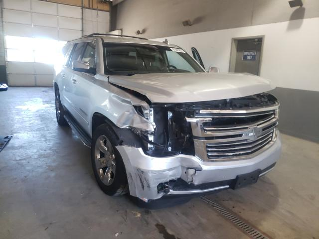 Salvage cars for sale from Copart Sandston, VA: 2015 Chevrolet Suburban K