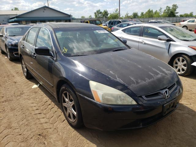Salvage cars for sale from Copart Pekin, IL: 2004 Honda Accord EX