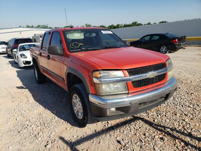 Salvage trucks for sale at Oklahoma City, OK auction: 2008 Chevrolet Colorado