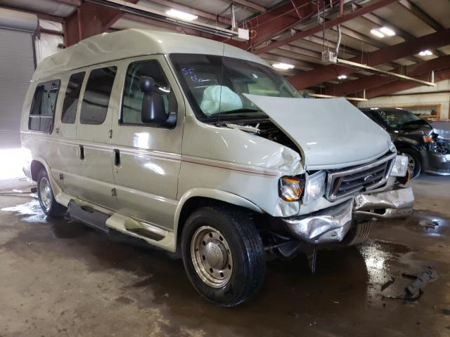 Salvage cars for sale from Copart Lansing, MI: 2006 Ford Econoline
