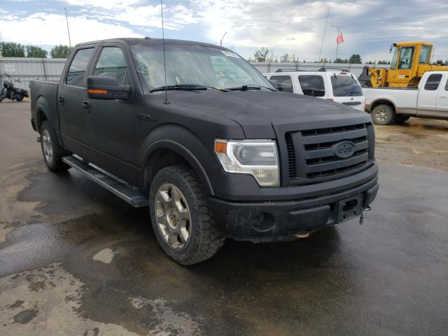 Salvage cars for sale from Copart Nisku, AB: 2013 Ford F150 Super