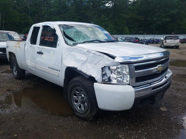 Salvage cars for sale from Copart Lyman, ME: 2009 Chevrolet Silverado