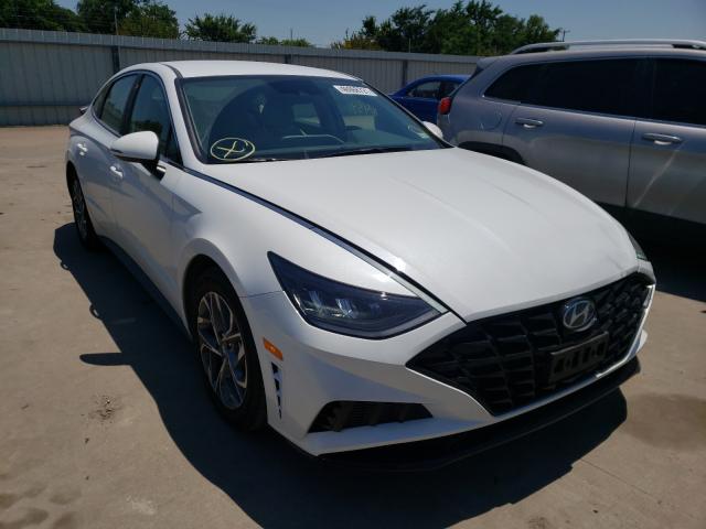 Vehiculos salvage en venta de Copart Wilmer, TX: 2021 Hyundai Sonata SEL