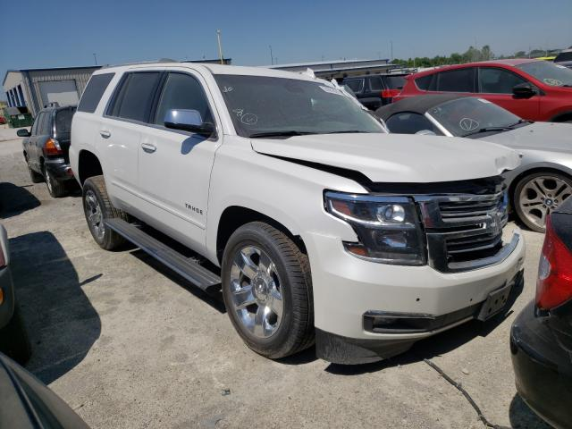 Salvage cars for sale from Copart Alorton, IL: 2017 Chevrolet Tahoe