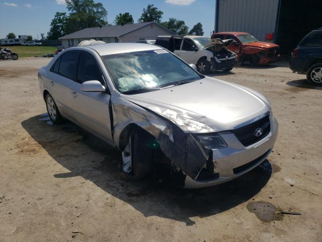 Salvage cars for sale from Copart Sikeston, MO: 2007 Hyundai Sonata GLS