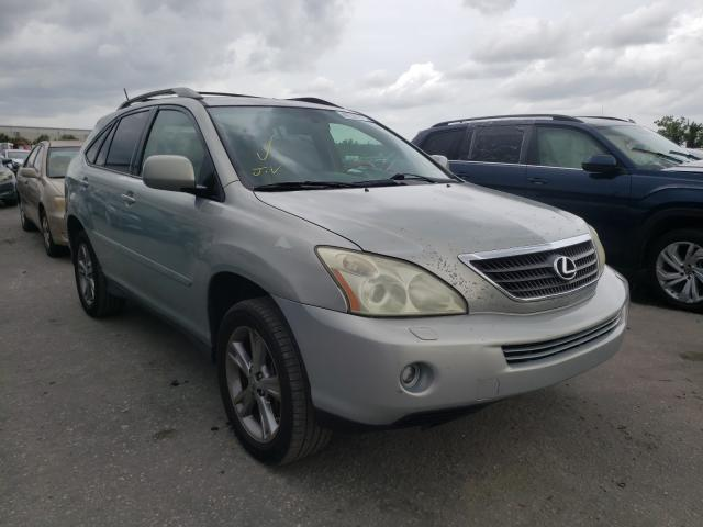 Salvage cars for sale from Copart Orlando, FL: 2007 Lexus RX 400H