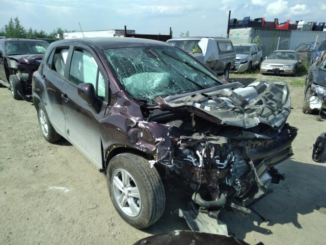 Salvage cars for sale from Copart Anchorage, AK: 2020 Chevrolet Trax LS