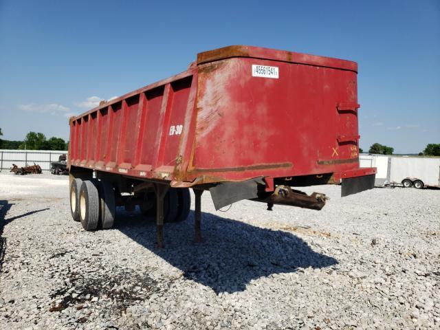 Dump salvage cars for sale: 2010 Dump Trailer