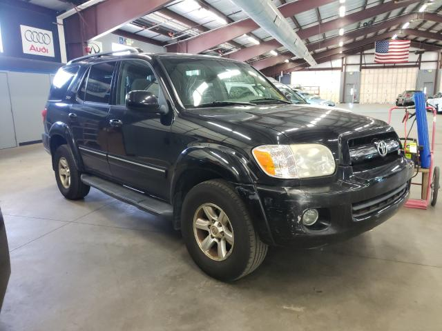 Salvage cars for sale from Copart East Granby, CT: 2005 Toyota Sequoia SR