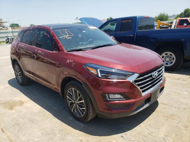 Salvage cars for sale from Copart Tulsa, OK: 2019 Hyundai Tucson Limited