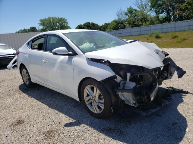 Salvage cars for sale from Copart Milwaukee, WI: 2019 Hyundai Elantra SE
