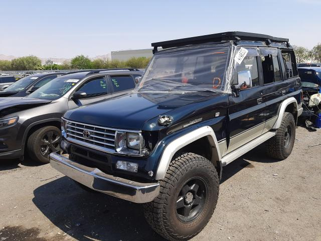 Salvage cars for sale from Copart Las Vegas, NV: 1995 Toyota Land Cruiser