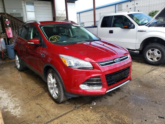 Salvage cars for sale from Copart Pennsburg, PA: 2016 Ford Escape Titanium