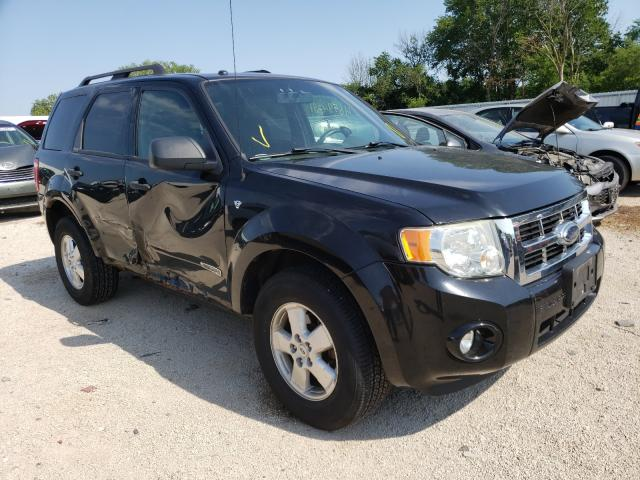 Salvage cars for sale from Copart Milwaukee, WI: 2008 Ford Escape XLT