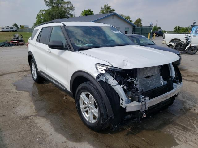 Salvage cars for sale from Copart Sikeston, MO: 2020 Ford Explorer X