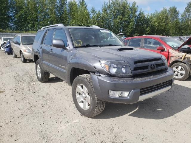 Salvage cars for sale from Copart Arlington, WA: 2005 Toyota 4runner SR