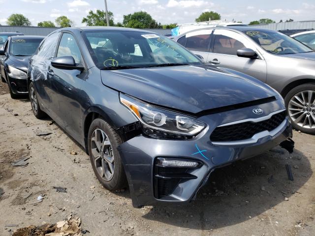 KIA salvage cars for sale: 2021 KIA Forte FE